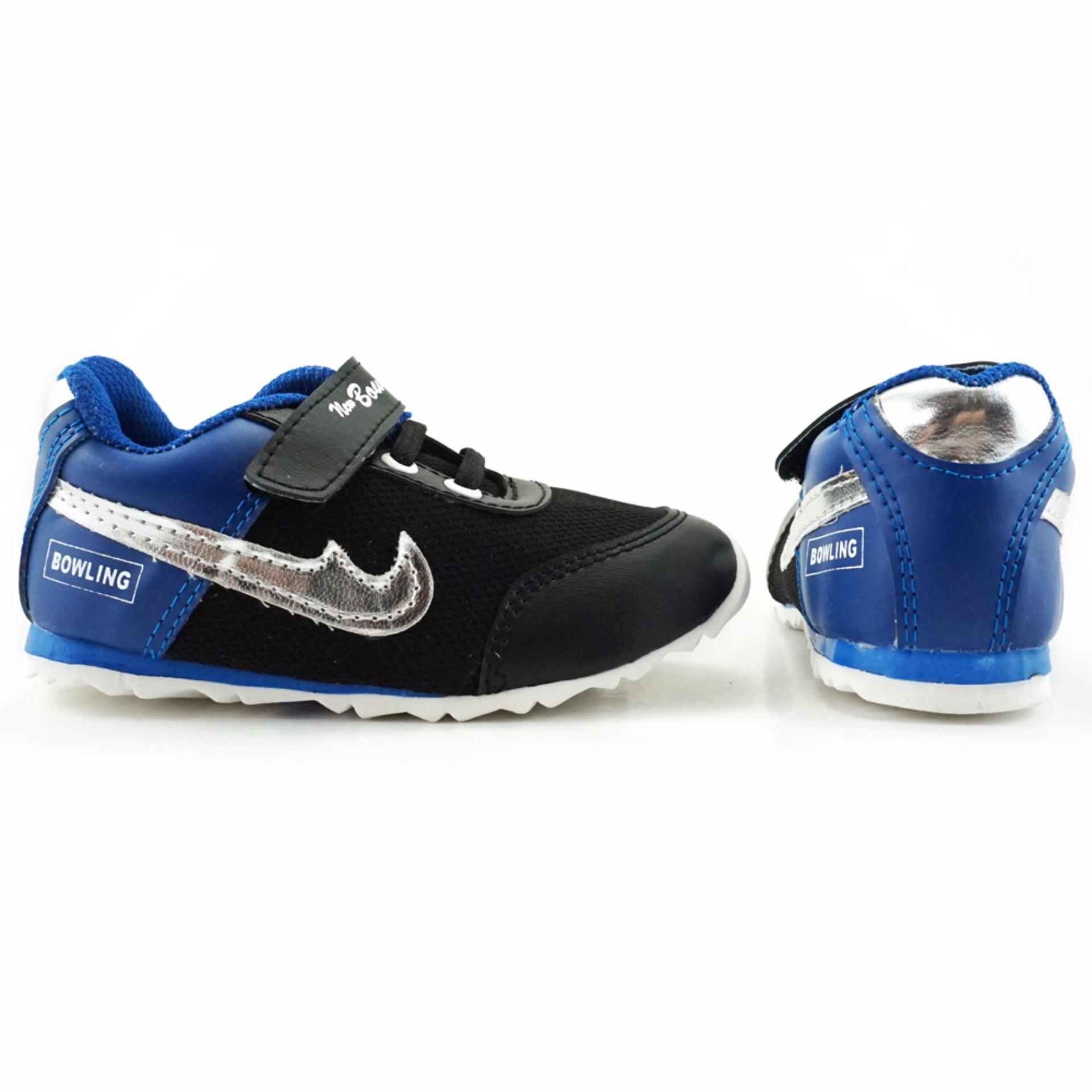 Trendishoes Sepatu Anak Sporty New Bowling Merah Daftar Harga Bayi Laki Baby Shoes Prewalker Tamagoo Alex Series  0 3 Bulan Abu Muda Biru