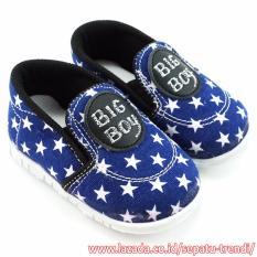 TrendiShoes Sepatu Bunyi Anak Cowo Big Boy 031BB - Navy
