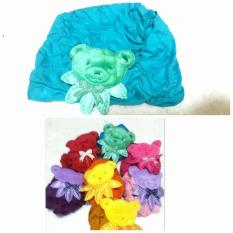 turban anak  turba baby boneka teddy bear lucu