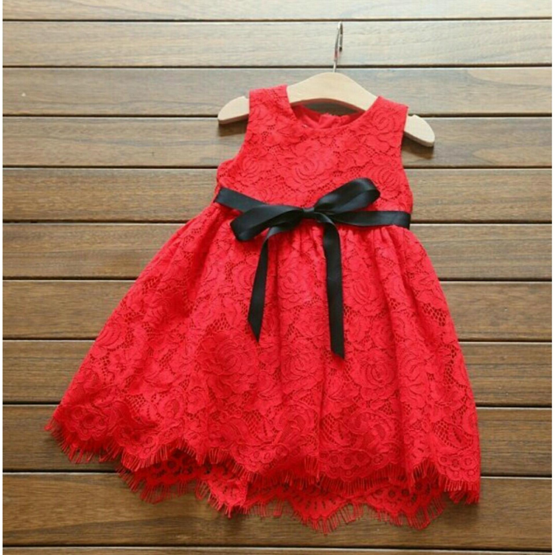 UC Baju Setelan  Anak Wanita Lucu Salur / Dress Wanita / Usia 3 - 5 Tahun / Baju Setelan  Imut NV (caca bbonri) - Putih