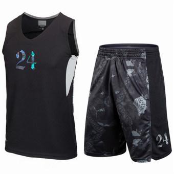 Jual ULAR tim cepat kering bernapas basket pakaian basket rompi (24 jersey  + celana pendek) Online 9aaf274168