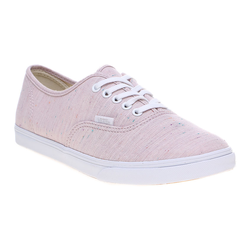 vans pink and white. vans speckle jersey authentic lo pro sneakers - pink/true white | lazada indonesia pink and