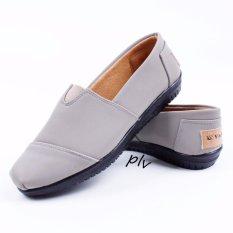 Vasco Sepatu Wanita Flat Shoes Ala Toms - Abu