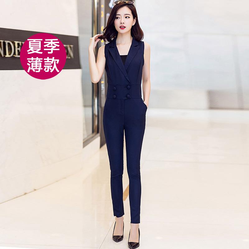 Flash Sale Versi Korea dari dada dibungkus Slim tipis secara signifikan kaki celana panjang (Angkatan