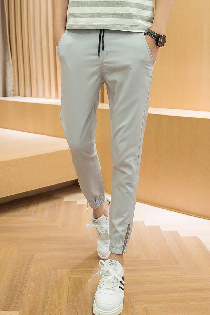 Versi Korea Dari Pria Slim Celana Pendek Obscure Coup S4 Men Bermuda Korean Brand Flash Sale Kaki Kasual Abu