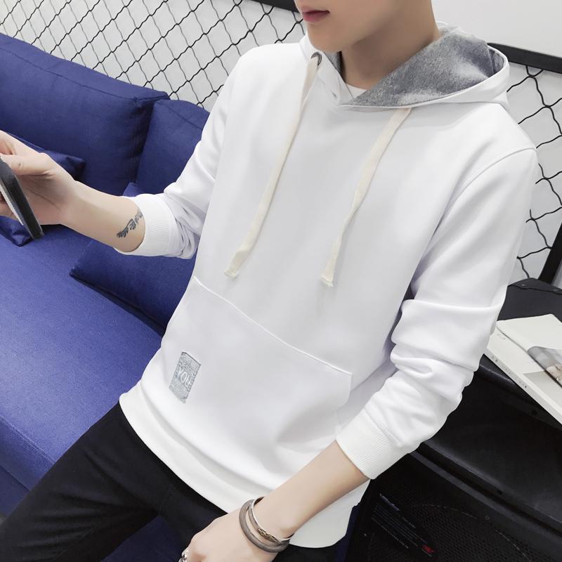 Cheap online Versi Korea dari lindung nilai beberapa pada sweater baru mantel (Putih)