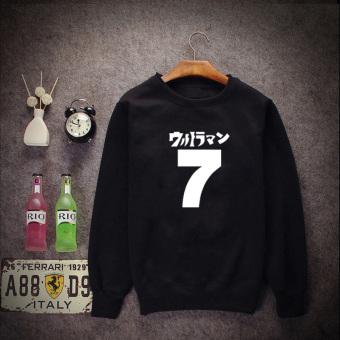 Gambar Versi Korea dari musim gugur leher bulat baru pullover sweater (Hitam [musim semi