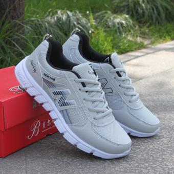 Perbandingan harga Versi Korea dari pakaian pria olahraga dan sepatu santai, sepatu fashion sepatu olahraga