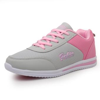 Belanja murah Versi Korea dari sepatu kulit baru tahan air sepatu mahasiswa flat shoes sepatu sepatu