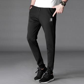 Versi Korea Slim kaki tertutup Wei celana pria celana kasual (Bulls standar model)