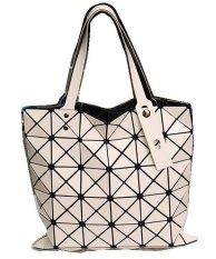 Vicria Tas Branded  Wanita - High Quality Totebag Korean Elegant Bag Style - Putih