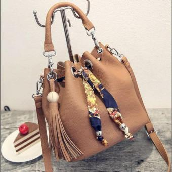 Detail Gambar Vicria Tas Branded Wanita TY87269 - High Quality PU Leather Korean Elegant Bag Style