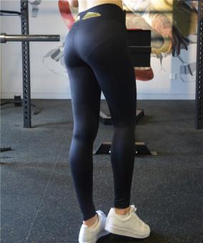 Victoria rahasia dapat bottoming berjalan kebugaran legging celana olahraga (Abu-abu gelap)