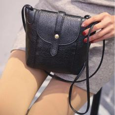 Vienna Linz Tas Selempang Wanita Terre Crossbody Purse Clutches Handbag Korea Fashion Accessories - Hitam