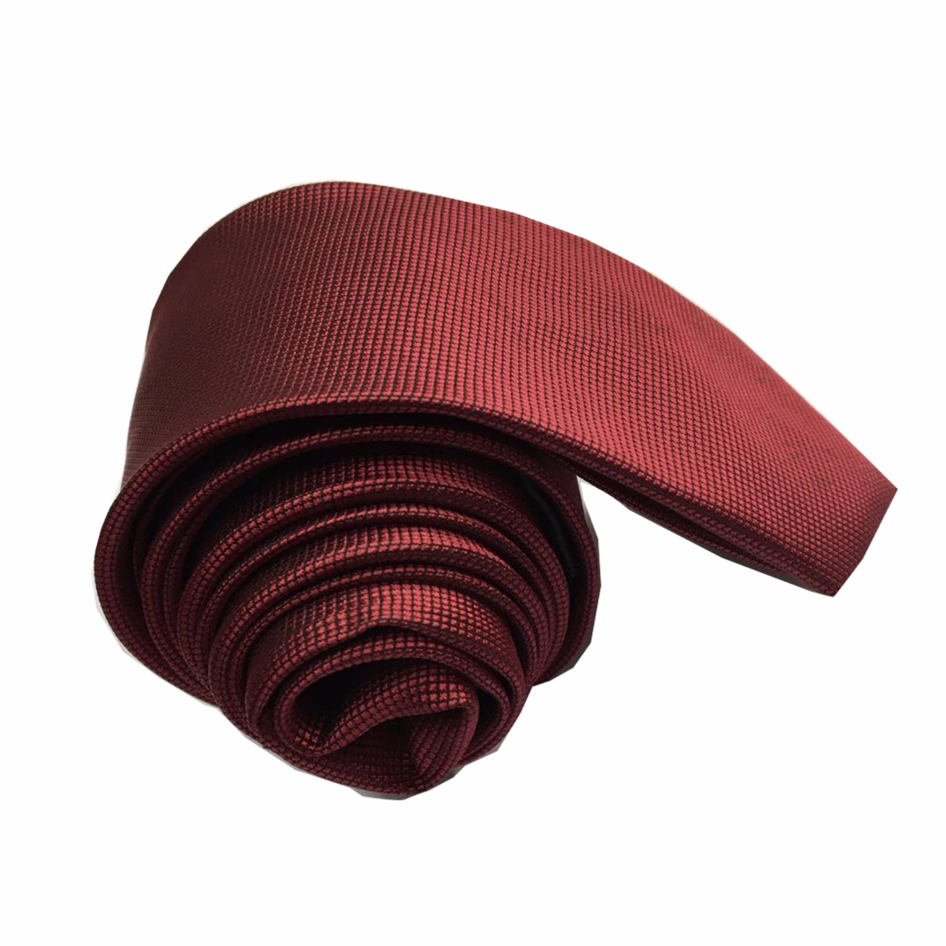 VM Dasi Fashion Slim Merah Maroon - Slim Ties ...