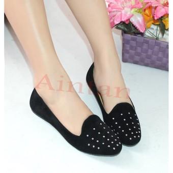 Balet Multicolor Free Sandals Source · Aintan Flat Shoes Hebron Sepatu Slip on .