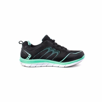 Women Mamamo Hitam Hijau Turquoise Woman Running Shoes - 3