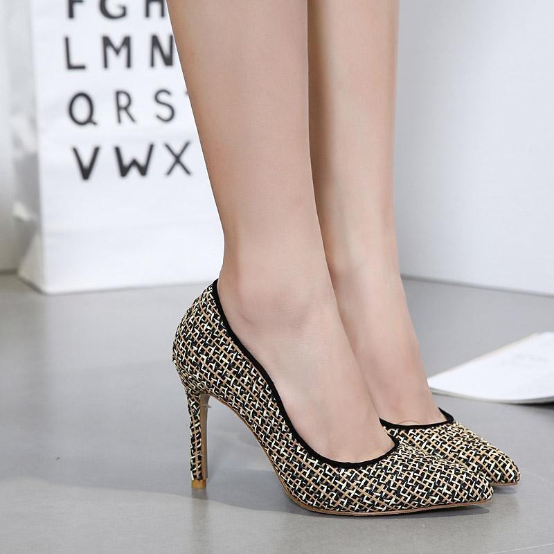 Warna Musim Panas Putri Yang Indah Fashion Pointed Sepatu Source · Women s Pointed Toe High Heels Fashion Party Shoes Black