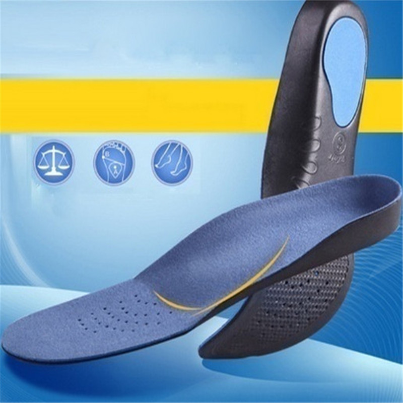 ... YingWei 1 pasang pereda nyeri perawatan kaki 3D Arch sponspemijatan sol sepatu hak tinggi bantalan hitam
