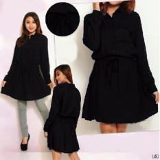 Yuki Fashion Dress Lucia - Hitam