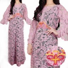 Yuki Fashion Kaftan Shilvia 2 - Pink - Best Seller