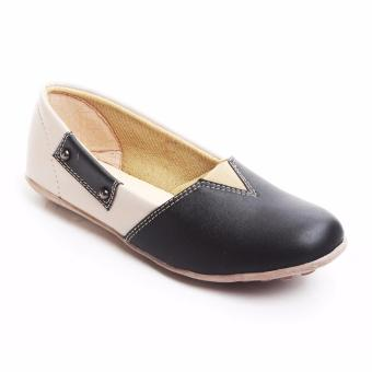 ... Yutaka Flat Shoes N43 - Hitam - 3 ...