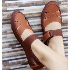 Yutaka Flat Shoes Wanita Coklat