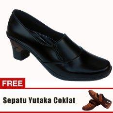 Yutaka Sepatu Wanita Booats + Gratis Sepatu Sp30 Tan
