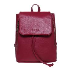 Zada Foldover Flap Backpack - Pink