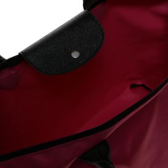 Zada Large Tote Nylon Bag - Fuschia - 5 .