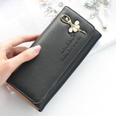 ZEEBEE CRYSTAL ANNABELLE LONG WOMEN WALLET DOMPET PANJANG WANITA DOMPET FASHION BLACK ✓. Home;