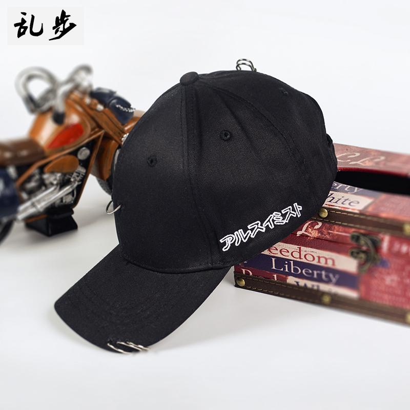 Flash Sale Zhi panjang untuk pria dan wanita ayat yang sama pin topi cincin topi (
