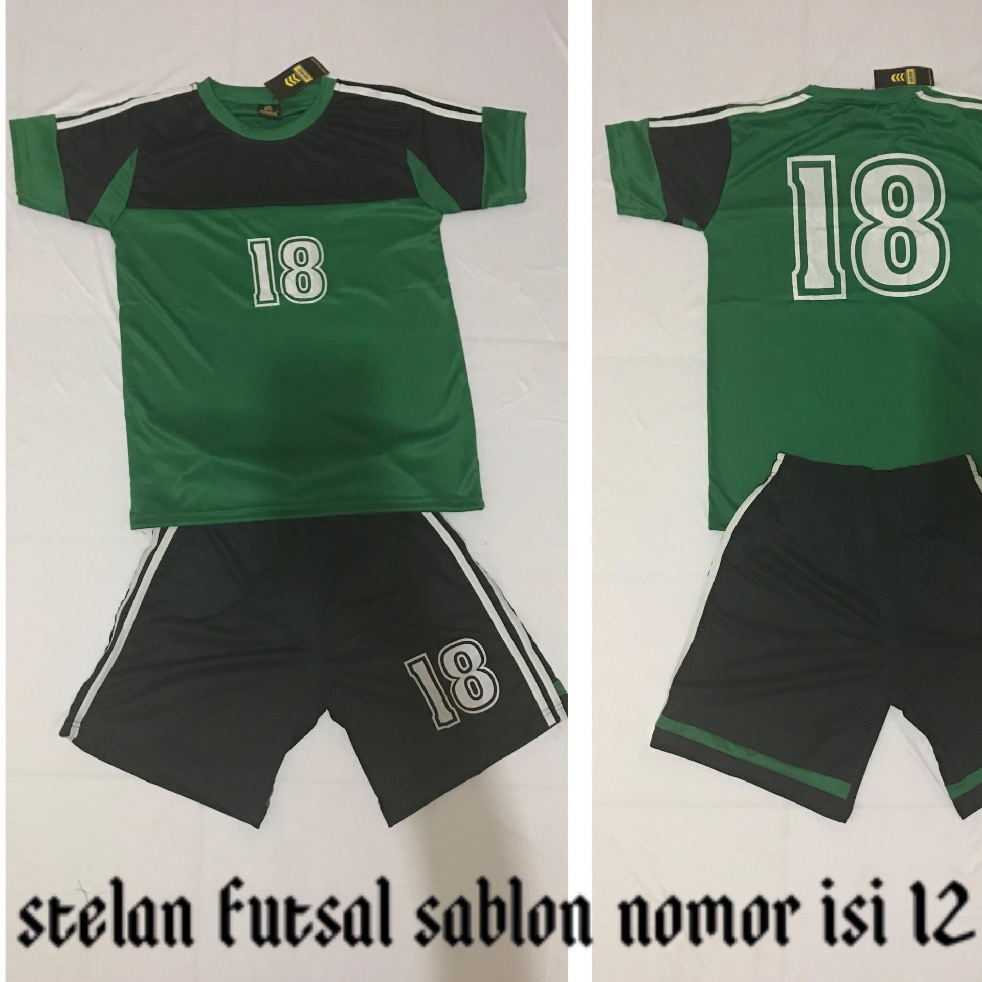 Setelan Futsal Sepakbola Soccer Under Armour Ua01 Baju Kaos Celana Nike Nk27 Jersey Bola Zone Sport Volispn15g