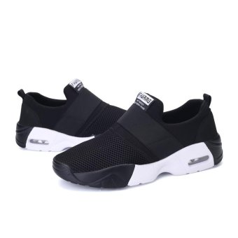 ZOQI Fashion Sports Shoes Younger Couple Shoes Men's And Women's Sneaker (black) - intl - 3