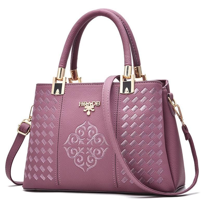 ZUUCEE Women Fashion Handbags Pu Leather Shoulder Lady Bags Messenger Big Leisure Handbag for Women(