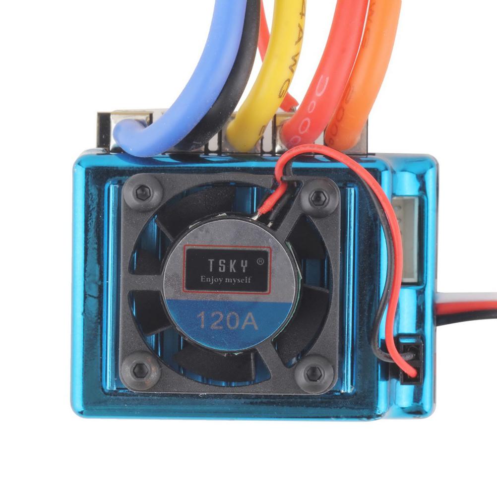 120A Sensored Brushless Speed Controller ESC for 1/8 1/10 .