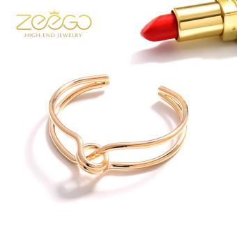 ... Harga Penawaran 18 k Korea Fashion Style berlapis naik gelang emas gelang Couple Harga Terendah