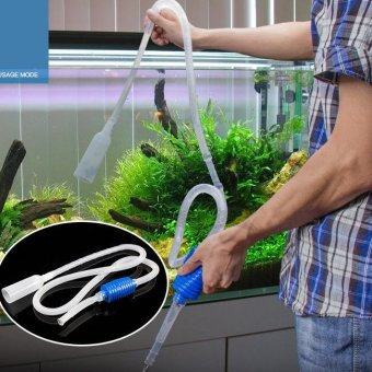 1.8m Aquarium Fish Tank Vacuum Water Change Exchange SimplePractical - intl