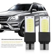 2 Buah 6 Watt Cerah T10 LED Otomatis Mobil Interior Tongkol Lebar Irisan Bola Lampu 12