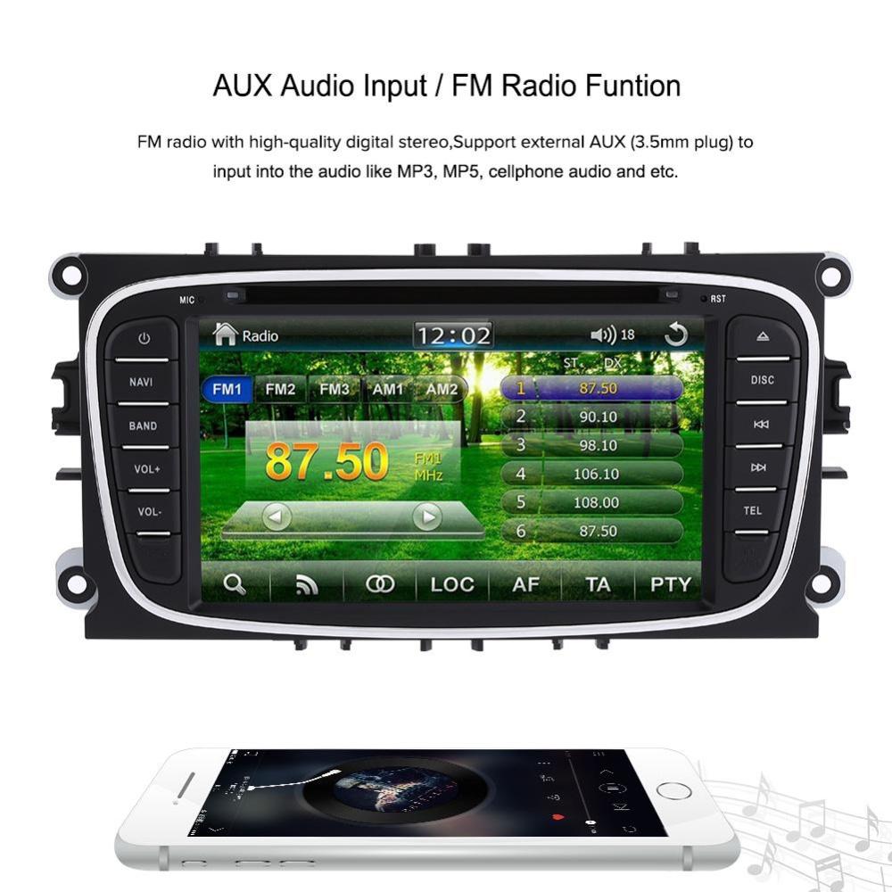 "Flash Sale 2 Din 7"" Car DVD Player w/ GPS Navigation Bluetooth ..."
