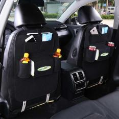 283 Car seat organizer Barang Tas Gantungan Kursi Mobil Multifungsi dipasang di Belakang Jok - Black