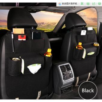 283 Car seat organizer Tas Mobil Multifungsi di pasang di belakangjok