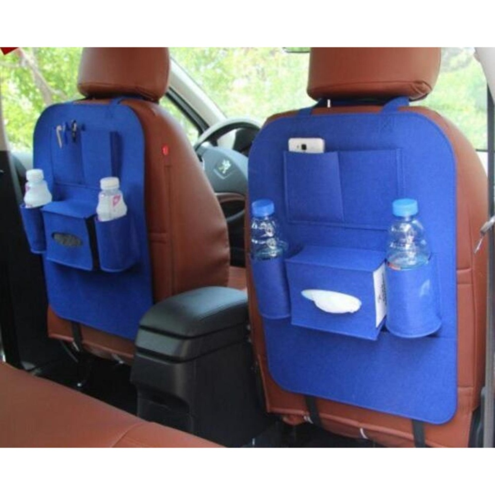 ... 283 Car seat organizer Tas Mobil Multifungsi dipasang di belakang jok - GREY ...