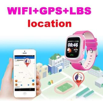 2Cool Kids Smart Watch with Touch Screen Phone Call WiFi PositionAnti Lose SOS GPS Tracker Children SmartWatch for iPhone Android -intl - 3