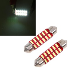 JMS Senja T10 Wedge Side Canbus COB 24 SMD Lampu LED Mobil atau Motor - Yellow
