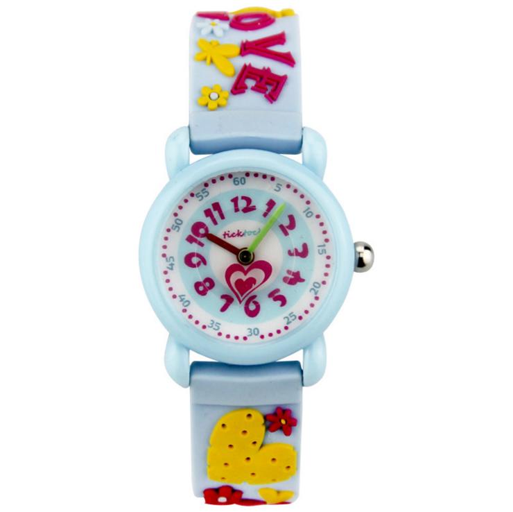 3D lucu silikon gadis siswa sekolah dasar anak anak jam tangan jam tangan anak