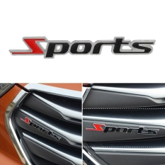 3D Sports Letter Chrome Metal Car Truck Sticker Emblem Badge DecalDecoration - intl