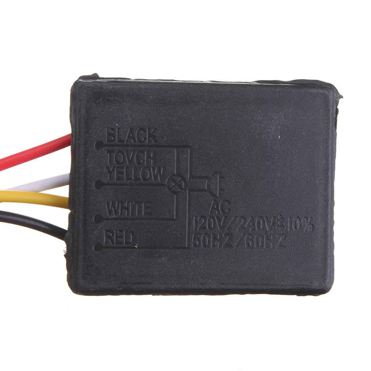 Harga Penawaran 3way Sensor Sentuh Saklar Kontrol 110 Perbaikan Meja Lampu Led Di Mobil Indoor Outdoor Tanpa Kabel Bohlam Dim