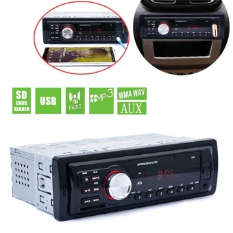 5983 Car In-Dash Stereo Audio FM Aux Input Receiver SD USB MP3 WMARadio Player