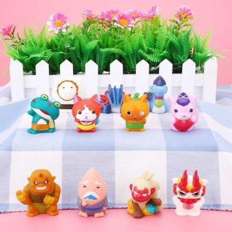 5pcs Lovely Minifigures Japanese Anime Yoka Designed Watch Figure Finger Toy Kid - intl - 2